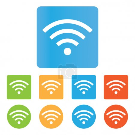 Color Wifi icons