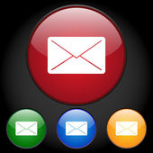 Email icons in color circles on black background
