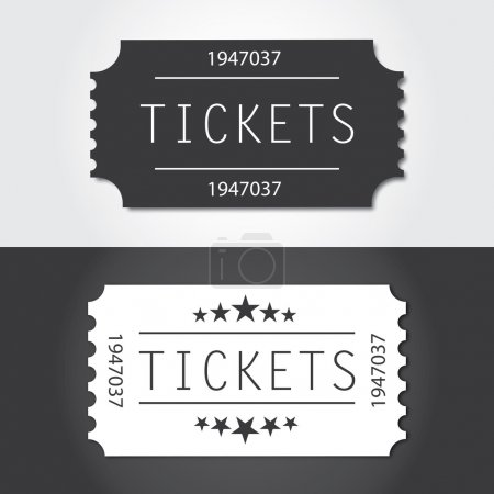 Tickets to old vintage style