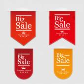 Banners Big Sale Vector