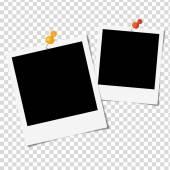 Photo Frames on white background - Vector illustration