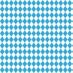 Oktoberfest checkered background and Bavarian flag...
