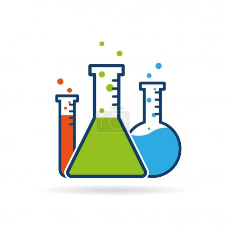 Vector chemistry icon