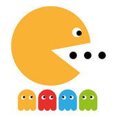 Play game pacman