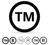 black Trademark Symbol