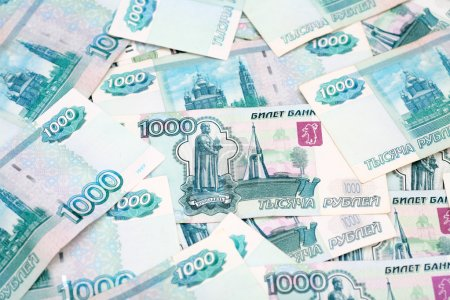 One Thousand Ruble Notes