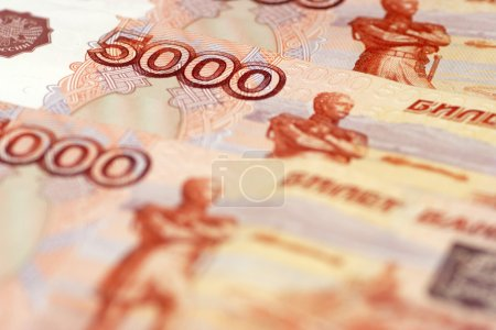 Five Thousand Ruble Notes