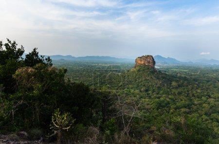 Photo of Sigiriya Rock towering