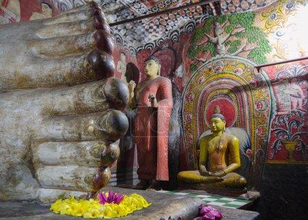 Dambulla Cave Temples, Central Province, Sri Lanka, Asia.