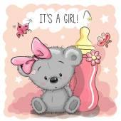 Cute Cartoon Bear girl