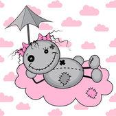 Monster girl on a cloud
