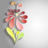 3D flower illustration