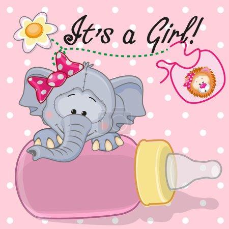 Cute  Elephant girl
