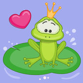 Cartoon  Princess Frog