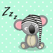 Cute Sleeping Koala