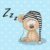 Cute Sleeping Mouse
