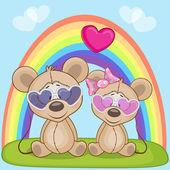 Roztomilý milovníky myš