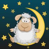 Sheep on the moon
