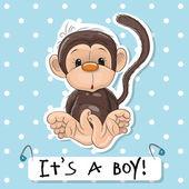 Cute Monkey boy