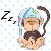 Spící opice