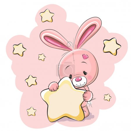 Rabbit with star