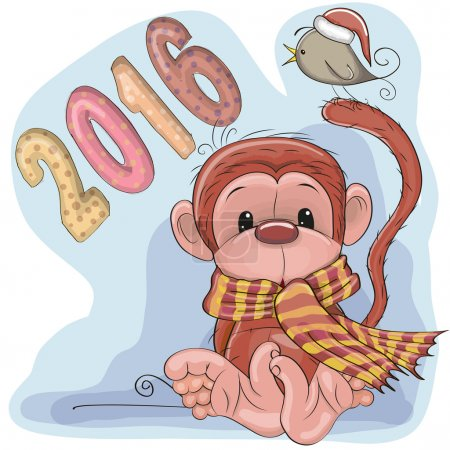 New Year Monkey