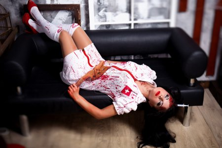 Beautiful killer nurse