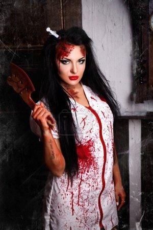Beautiful killer nurse