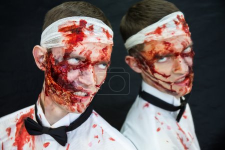 Zombie bloody face
