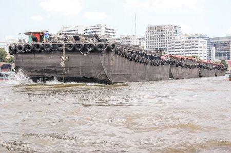 Industrial ship port