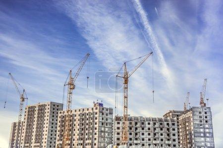 High-rise houses