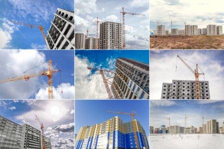 New flats and hoist crane