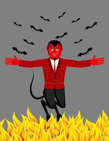 Красный дьявол в аду смешно