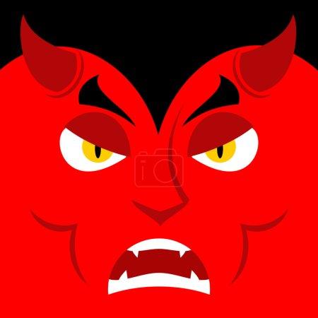 Зло Сатана злой эмоций Дьявола
