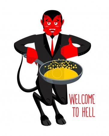 Добро пожаловать в ад Дьявол держит