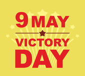 Victory Day may 9 Salute Vector illustration