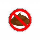 ban to shit Banning  sign take a crap litter Red strikethroug