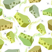 Cheese DORBLU seamless pattern Background of chunks of blue che