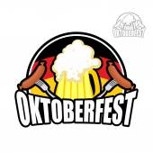 Beer Festival Oktoberfest in Germany Beer mug on background of