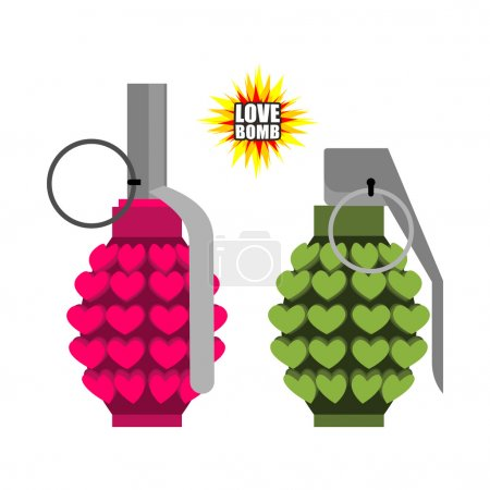 Love bomb Hand grenade from