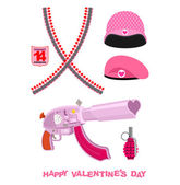 Weapons Cupid Set Military love accessories Breaking guarantor
