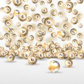 background lottery balls