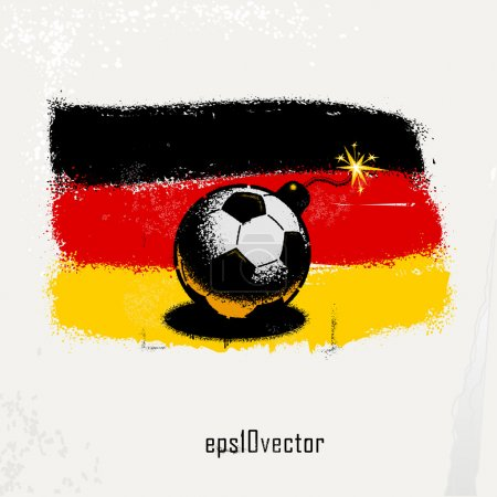 Football soccer bomb