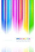 Abstract background of colored stripes