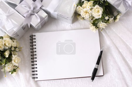 Wedding gifts and writing book