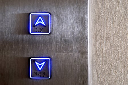 Elevator buttons...