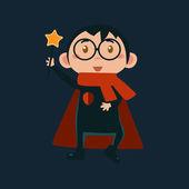 Boy In Harry Potter Haloween Disguise