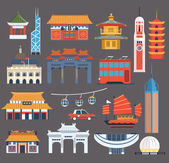 Chinese Symbolic Landmarks Collection