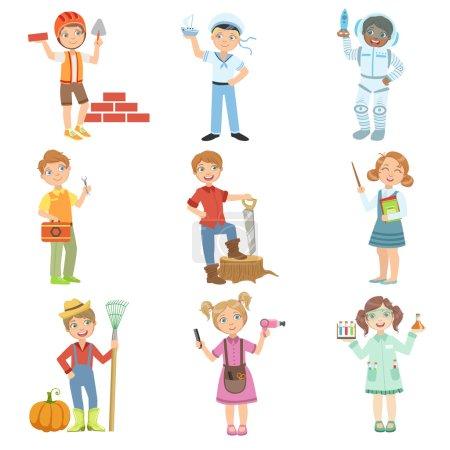 Kids And Their Dream Jobs