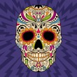 Color mexican skull, the original pattern...